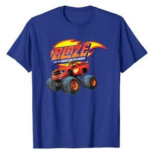 """Nickelodeon Graphic Tshirt 1 Blaze & The Monster Machines """"BLAZE"""" T-Shirt"""