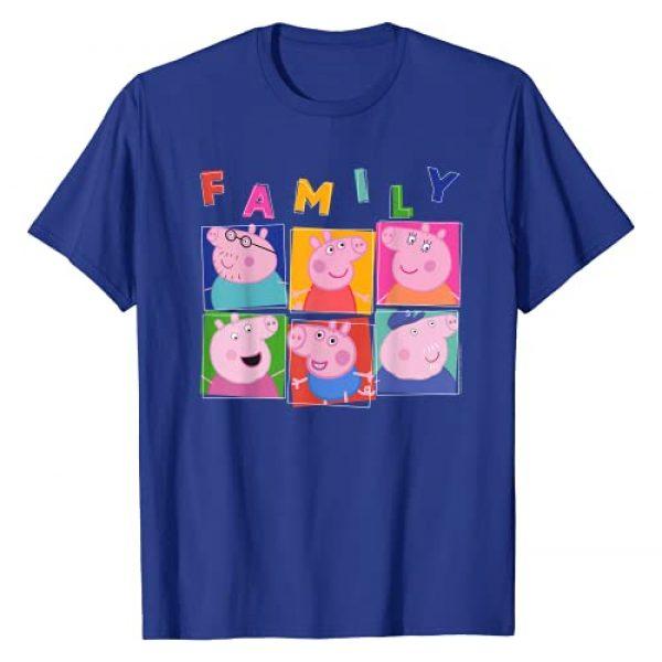 Peppa Pig Graphic Tshirt 1 Family Box Up T-Shirt