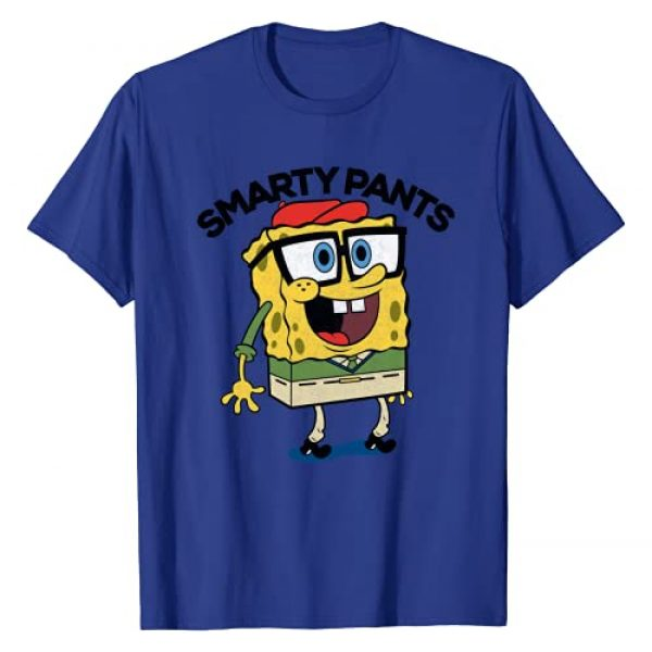 Nickelodeon Graphic Tshirt 1 Spongebob SquarePants Smarty Pants T-Shirt