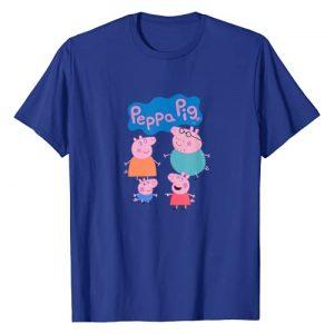 Peppa Pig Graphic Tshirt 1 Family Logo T-Shirt