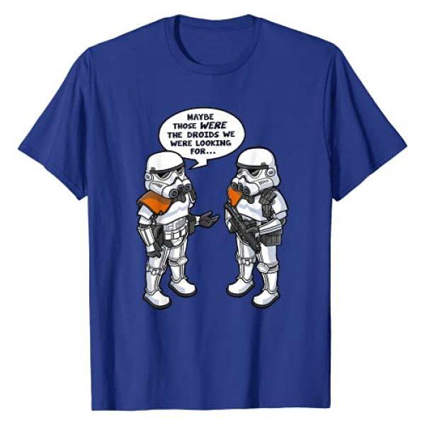 Star Wars Graphic Tshirt 1 Wrong Droids Funny Comic Graphic T-Shirt T-Shirt