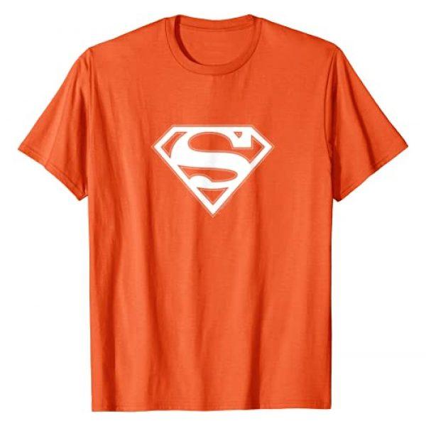 DC Comics Graphic Tshirt 1 Superman Orange & White Shield T-Shirt