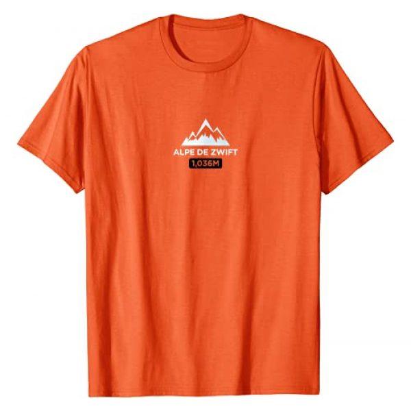 FLUX Cycling Apparel Graphic Tshirt 1 Alpe De Zwift T-Shirt