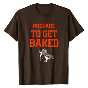 Cleveland Sports Shirts Graphic Tshirt 1 Cleveland: Prepare To Get Baked Football T Shirt