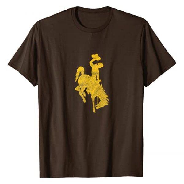 J. Walker Graphic Tshirt 1 Wyoming Cowboy Riding a Bucking Horse Vintage Design T-Shirt