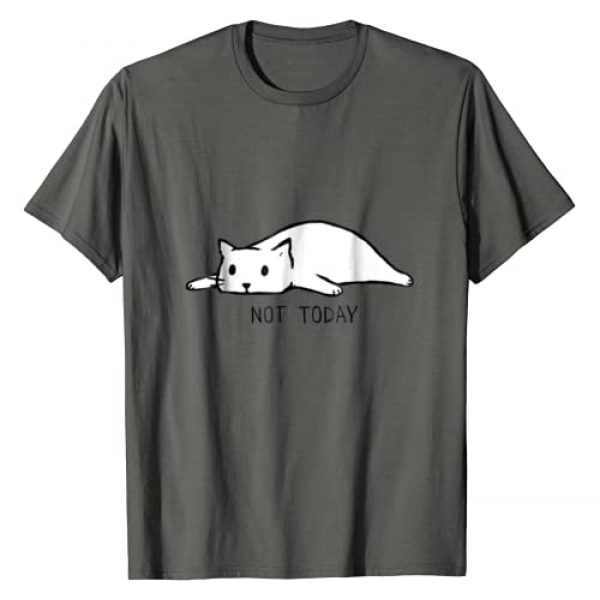 Crazy Cat T Shirts Graphic Tshirt 1 Not Today Crazy Cat T Shirts Graphic Cute Funny
