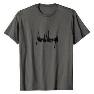 Tronic Tees Graphic Tshirt 1 President Donald J Trump Signature T-Shirt