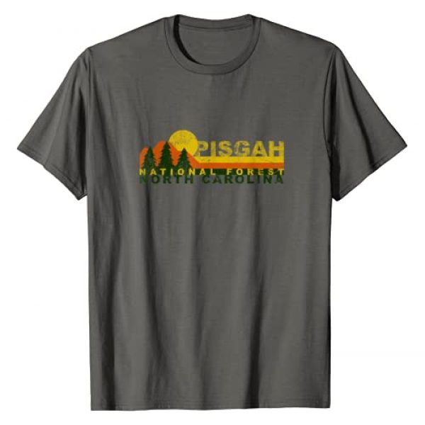 National Forests Nature Lovers Camping Apparel Graphic Tshirt 1 Pisgah National Forest Vintage Retro T-Shirt