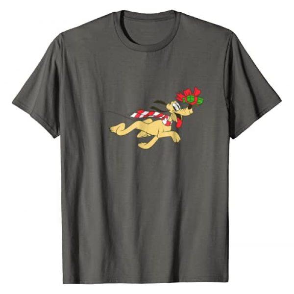 Disney Graphic Tshirt 1 Vintage Pluto Running Holiday T-Shirt
