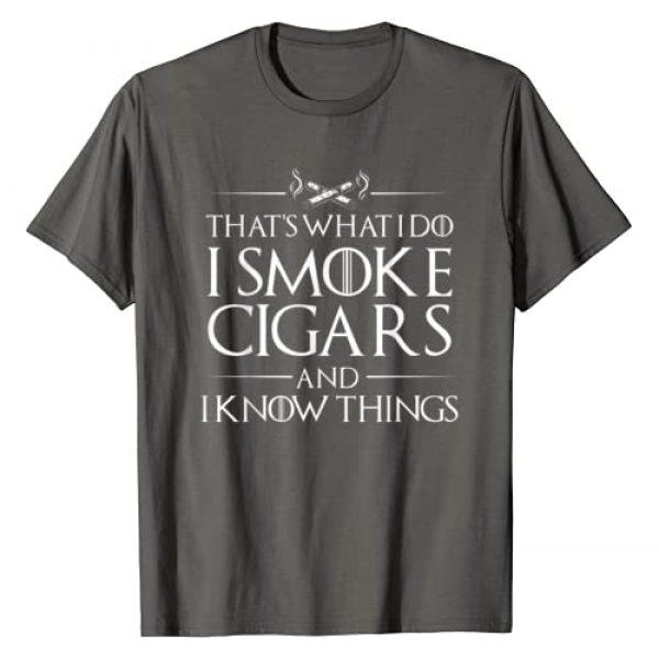 Scotch Graphic Tshirt 1 Smoke Cigars Smoker Shirt - Ideal Clever Class Men Gift