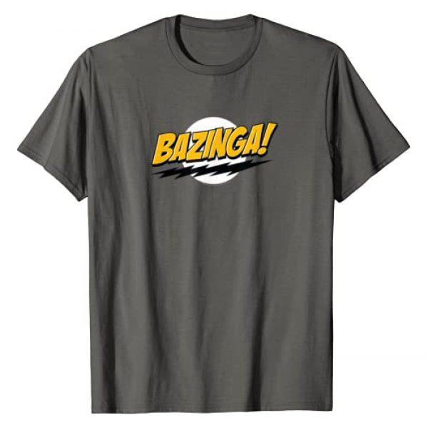 The Big Bang Theory Graphic Tshirt 1 Bazinga T-Shirt