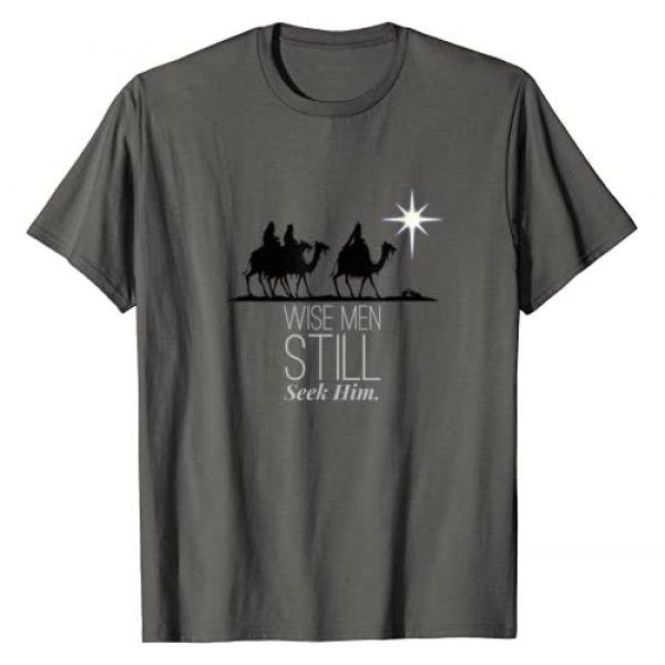 Three Kings Jesus Son Of God Birth Of Christ Shirt Graphic Tshirt 1 Wise Men Still Seek Him Christian Christmas Jesus T-shirt