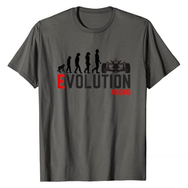 Novelty Retro Funny Car Racing Evolution T-shirts Graphic Tshirt 1 Car Racing shirt Evolution IndyCar F1 Formula 1 T shirt