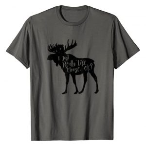 Merry Christmoose Graphic Tshirt 1 I Just Really Like Moose, Ok Funny Moose Animal T-Shirt