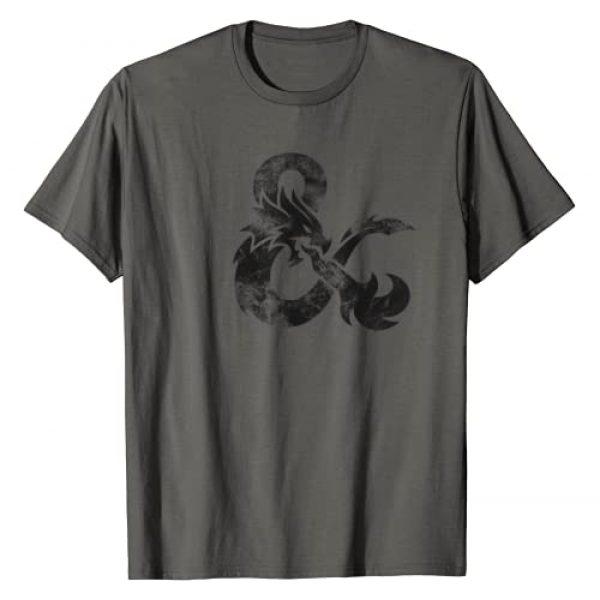 Dungeon & Dragons Graphic Tshirt 1 Dragon Sketch T-Shirt