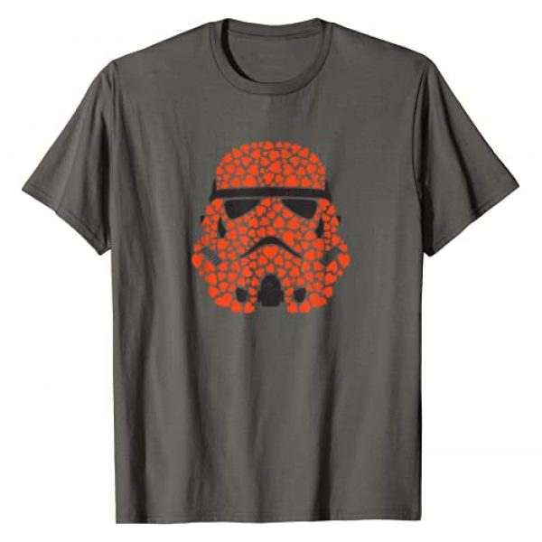 Star Wars Graphic Tshirt 1 Valentine's Day Stormtrooper Hearts T-Shirt