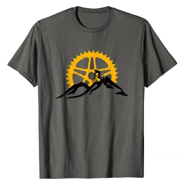 Mountain Bike Downhill T-Shirts Graphic Tshirt 1 Mountain Bike T-Shirt - MTB Downhill Biking Shirt Gift