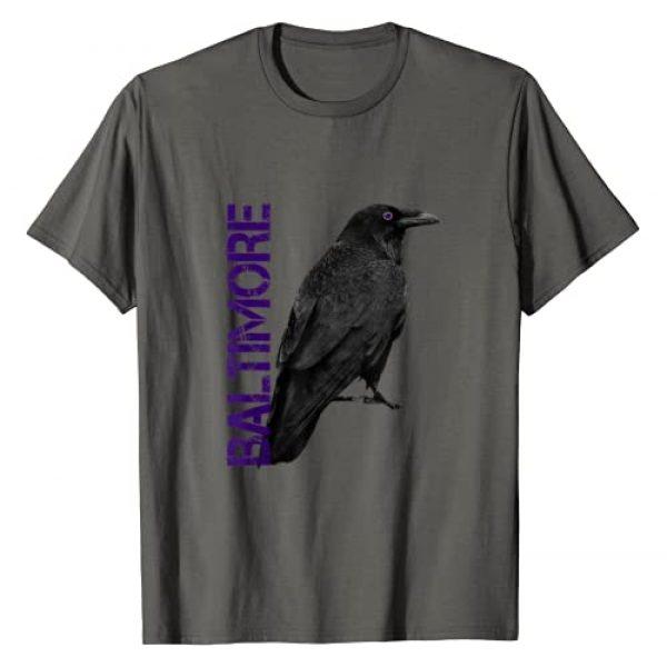 wormy Baltimore Maryland Graphic Tshirt 1 Baltimore Maryland Edgar Allan Poe Raven Eye T-Shirt