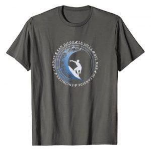 Retro Vintage San Diego Surf Shirts Graphic Tshirt 1 San Diego Surf Shirt / San Diego Beach Gift T-Shirt