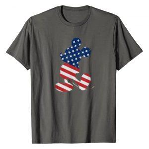 Disney Graphic Tshirt 1 Mickey Mouse American Flag USA T-Shirt