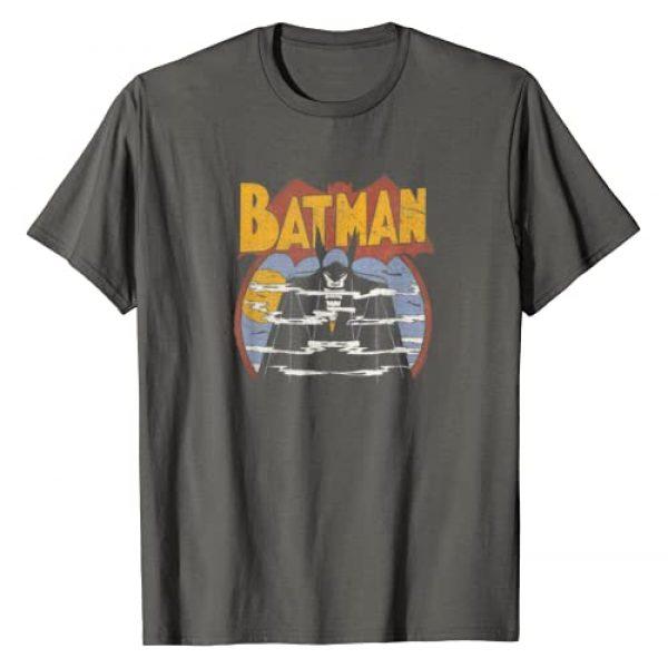 DC Comics Graphic Tshirt 1 Batman Foggy T-Shirt