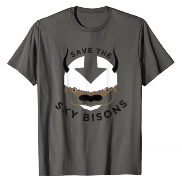 Avatar: The Last Airbender Graphic Tshirt 1 Save The Sky Bisons With Bison Head T-Shirt