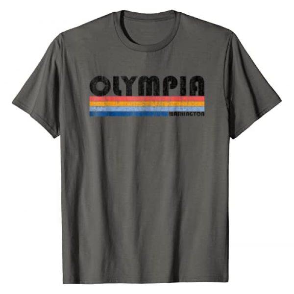 Retro Olympia Tshirt Graphic Tshirt 1 Vintage 1980s Style Olympia WA T Shirt