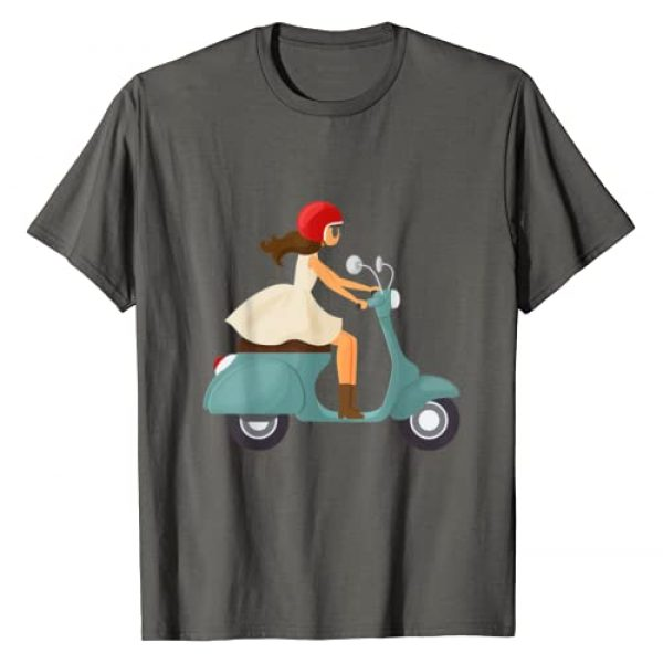 Totality Graphic Tshirt 1 Girl On A Scooter T-Shirt
