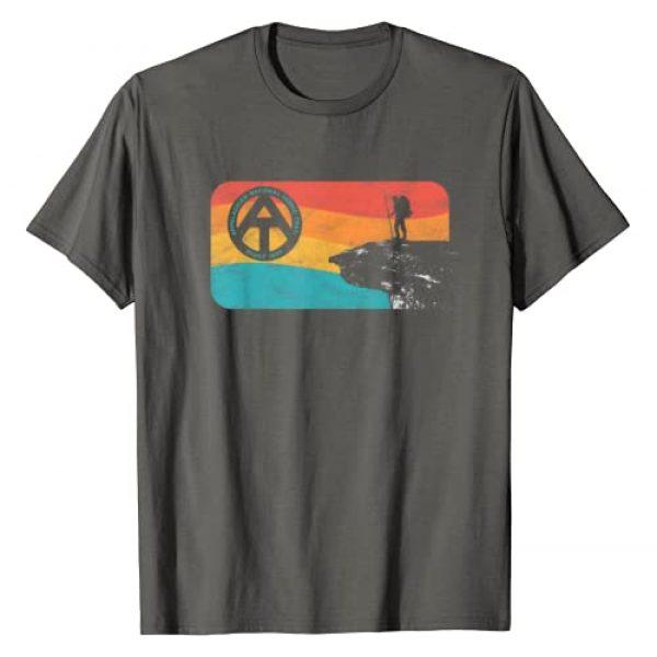 Symbiosis Supply Co. Graphic Tshirt 1 Appalachian Trail Retro McAfee's Knob Hiking T-Shirt