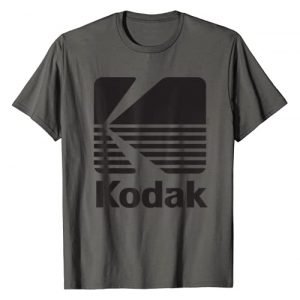KODAK Graphic Tshirt 1 80's Vintage Kodak Logo - Black T-Shirt