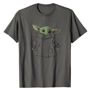 Star Wars Graphic Tshirt 1 The Mandalorian The Child Illustration T-Shirt