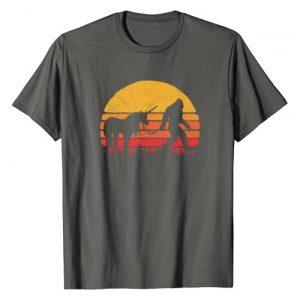 Bigfoot UFO Believer 2001 Tees Graphic Tshirt 1 Funny Bigfoot / Sasquatch & Unicorn - Legends! T-Shirt