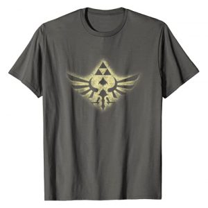 Legend of Zelda Graphic Tshirt 1 Nintendo Zelda Skyward Sword Golden Triforce Graphic T-Shirt