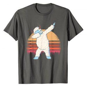 YETI Graphic Tshirt 1 t shirt; Snowman t shirt; Dabbing Yeti t shirt; T-Shirt