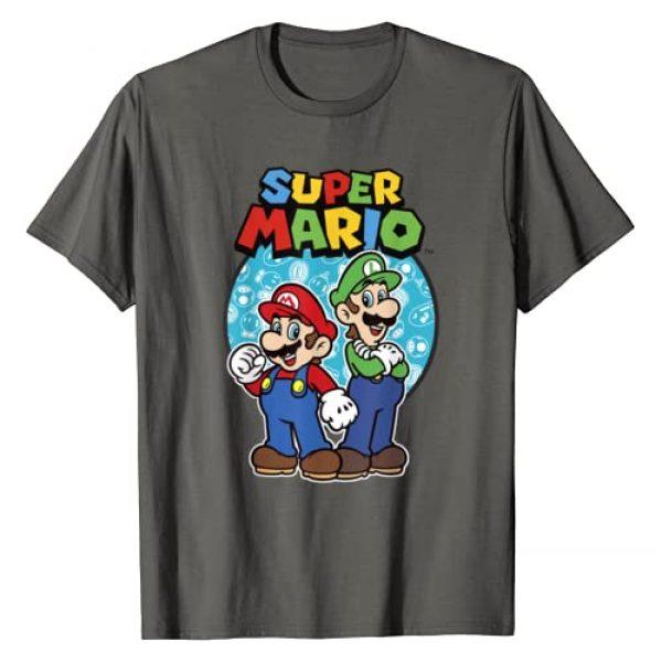 Nintendo Graphic Tshirt 1 Super Mario Luigi & Mario Brothers Ready To Play T-Shirt