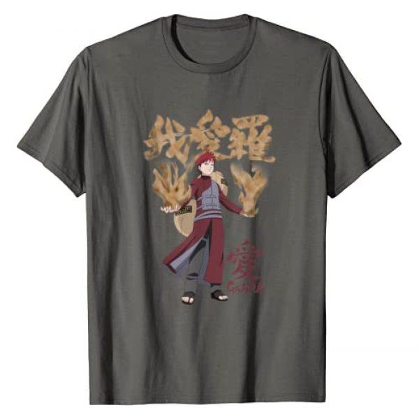 Naruto Graphic Tshirt 1 Shippuden Gaara Kanji T-Shirt