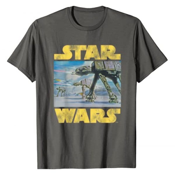 Star Wars Graphic Tshirt 1 Vintage Imperial AT-AT Battle of Hoth T-Shirt