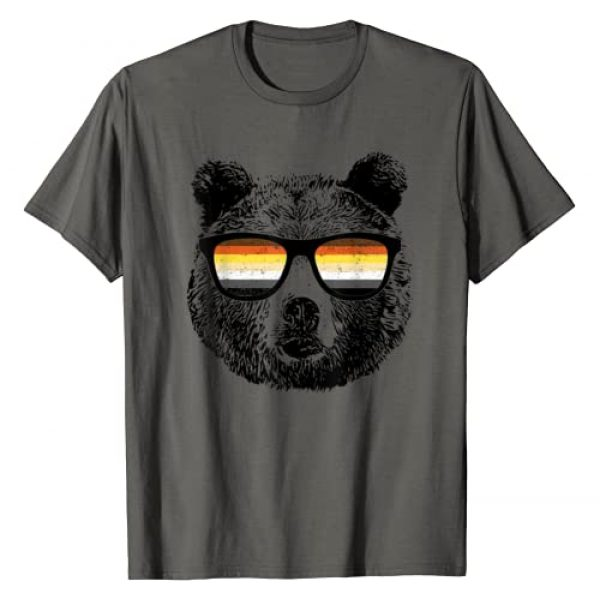 Equal Rights Gay Bear Designs Graphic Tshirt 1 Gay Bear With Sunglasses T-Shirt