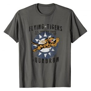 Designed For Flight Graphic Tshirt 1 Flying Tiger's WWII Insignia Vintage WW2 Air Corps T-Shirt
