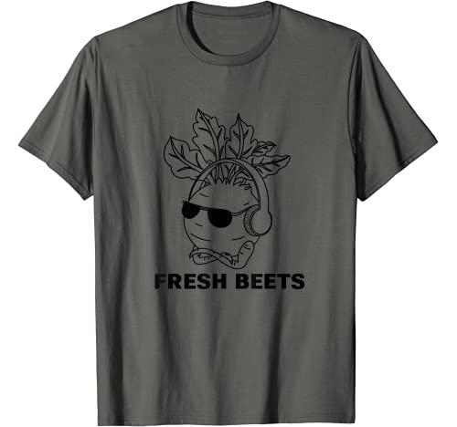 """funny vegetable shirts Graphic Tshirt 1 Funny """"fresh beets"""" vegetable T-Shirt"""