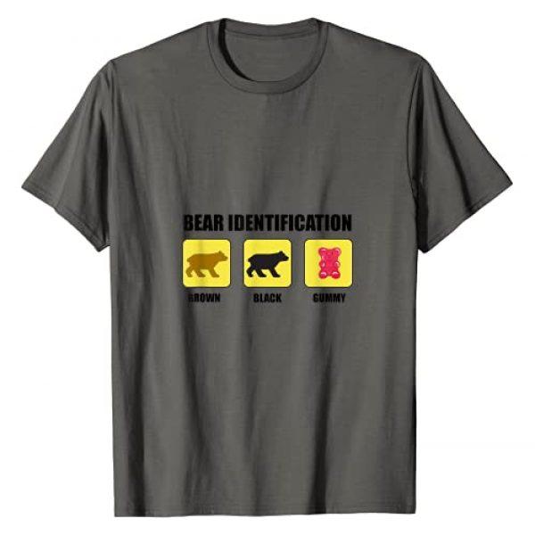 Bear Identification Funny T-Shirt Graphic Tshirt 1 Bear Identification Funny T-Shirt T-Shirt