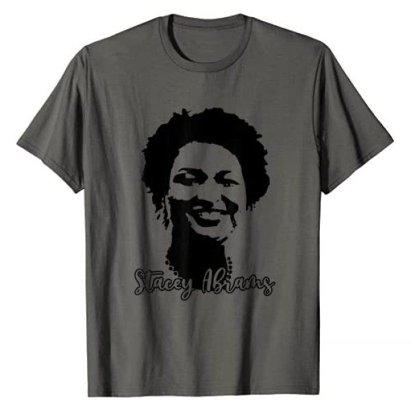 Stacey Abrams Progressive Georgia Portrait Graphic Tshirt 1 Stacey Abrams Portrait Progressive Georgia Gift T-Shirt