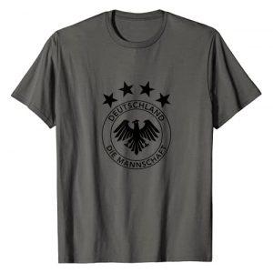 International Football Designs Graphic Tshirt 1 Germany Soccer Football Die Mannschaft National Team T-Shirt