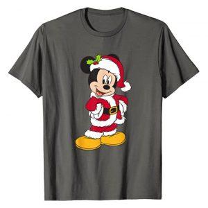 Disney Graphic Tshirt 1 Santa Mickey Mouse Holiday T-Shirt