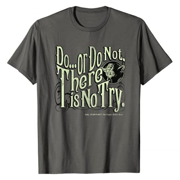 """Star Wars Graphic Tshirt 1 Yoda Epic Quote """"Do Or Do Not..."""" Graphic T-Shirt T-Shirt"""