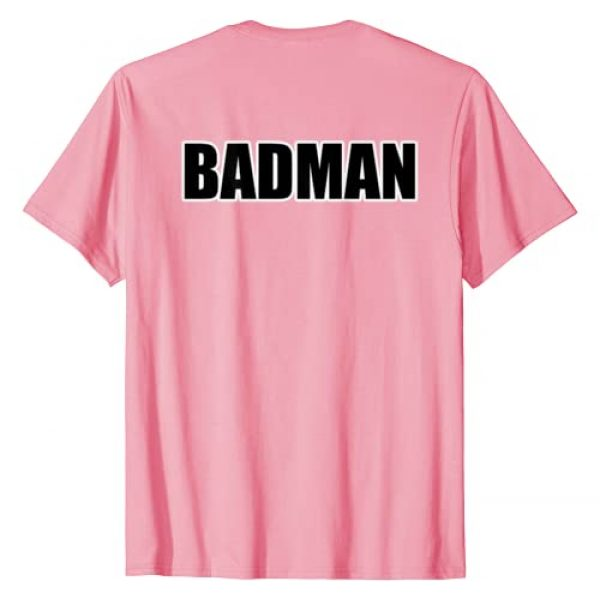 KamCo Tees Graphic Tshirt 2 SubtlTee Badman T-Shirt