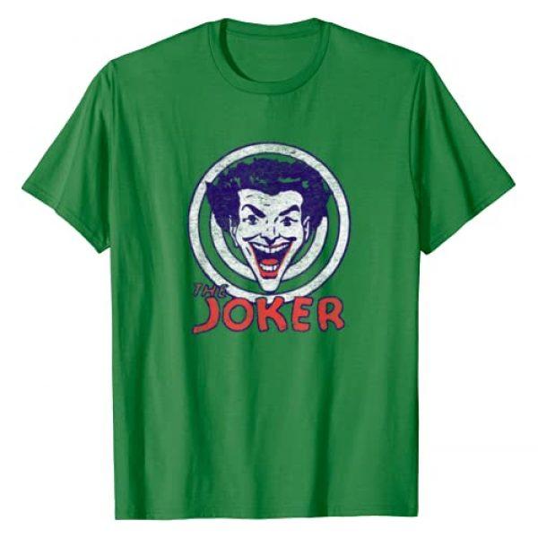 DC Comics Graphic Tshirt 1 Batman Joker Target T-Shirt