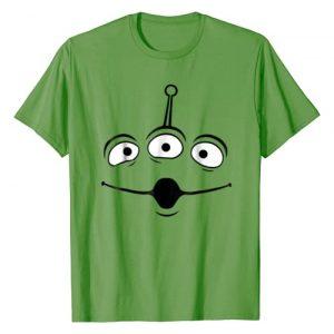 Disney Graphic Tshirt 1 Pixar Toy Story Alien Face Halloween Graphic T-Shirt