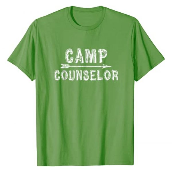 Camp Mountain, MT Graphic Tshirt 1 Camp Counselor T Shirt