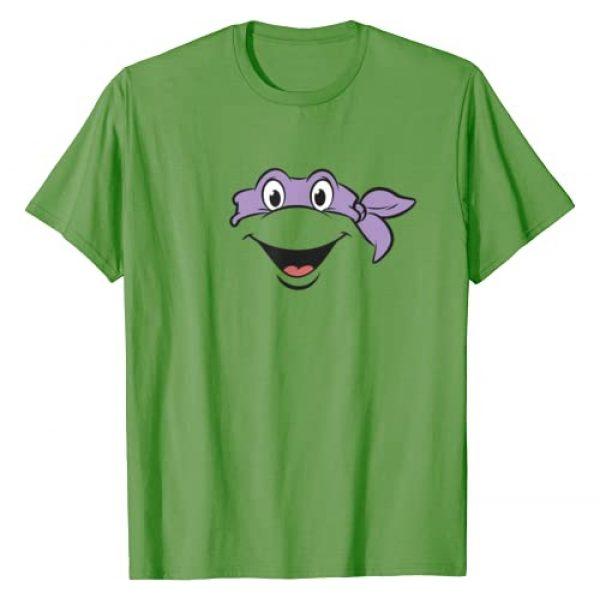 Teenage Mutant Ninja Turtles Graphic Tshirt 1 Donatello Big Face Costume T-Shirt